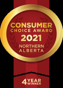 2021 Consumers Choice Award - 4 Consecutive Years