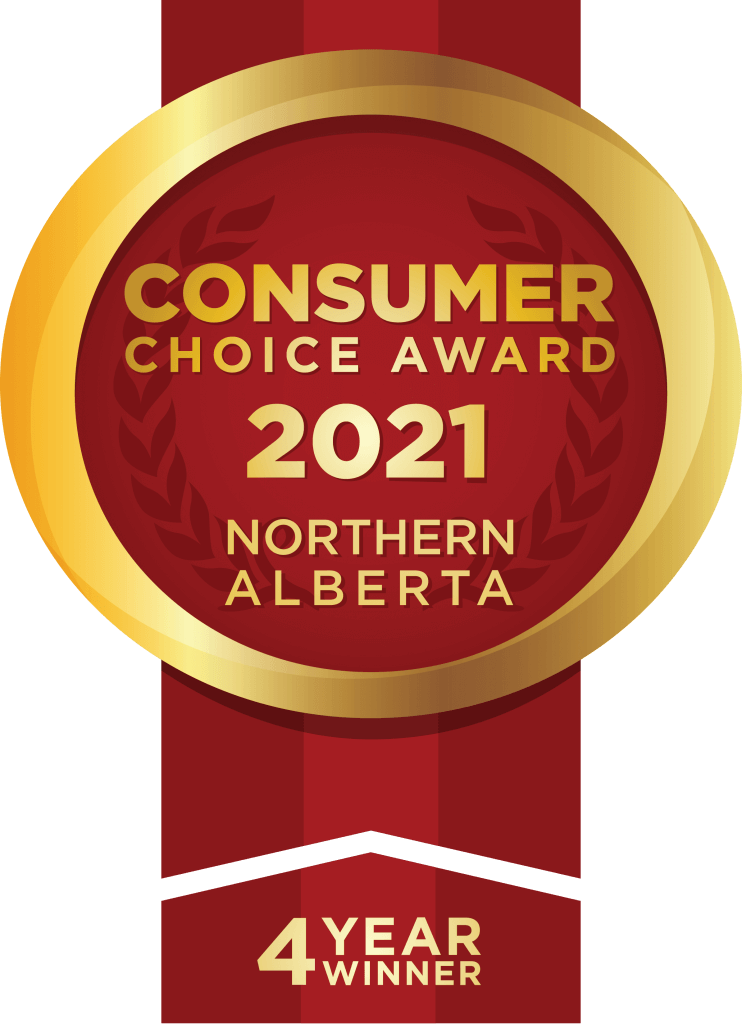 2021 Consumers Choice Award - 4 Consecutive Years